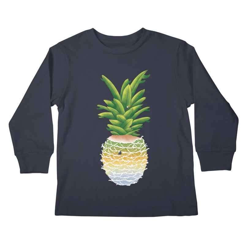 Finapple Kids Longsleeve T-Shirt by kooky love's Artist Shop