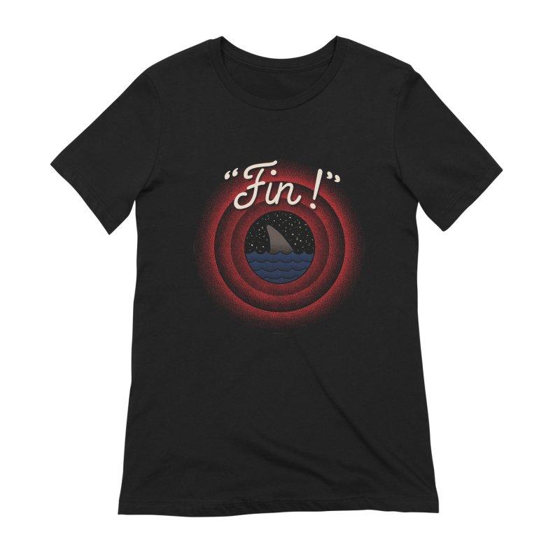 Fin Women's Extra Soft T-Shirt by kooky love's Artist Shop