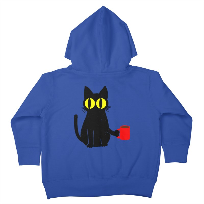 CATFEINE Kids Toddler Zip-Up Hoody by kooky love's Artist Shop