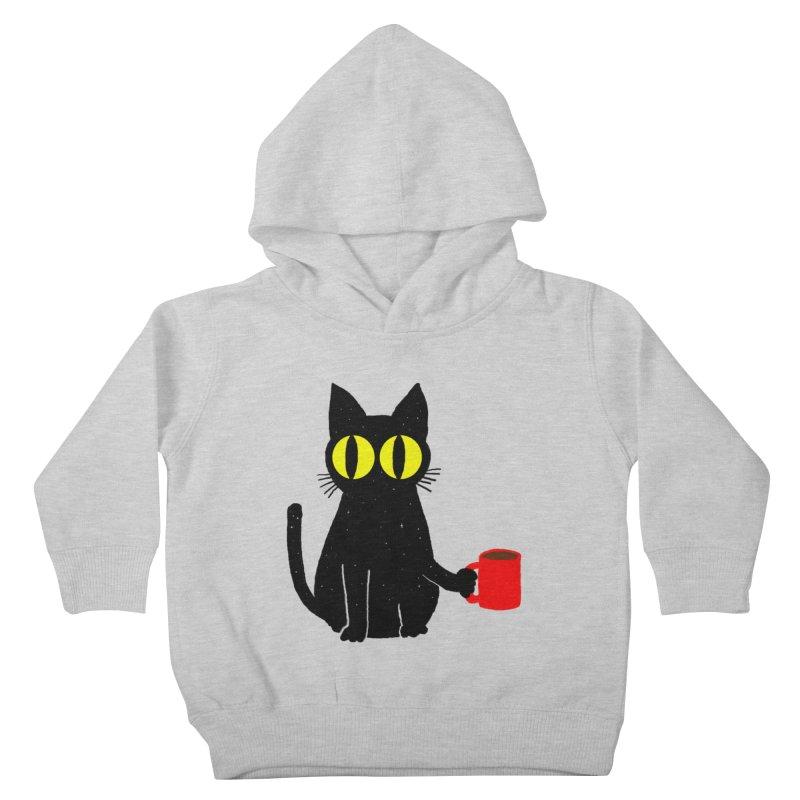 CATFEINE Kids Toddler Pullover Hoody by kooky love's Artist Shop
