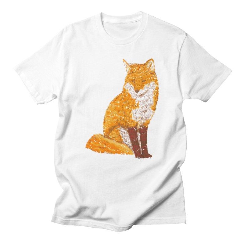 Snow & Fox Ever Women's Regular Unisex T-Shirt by kooky love's Artist Shop