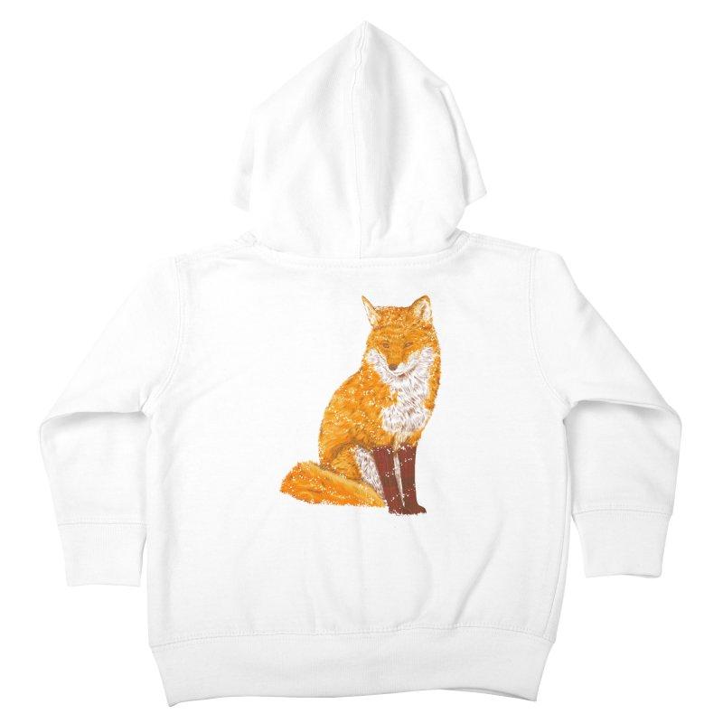 Snow & Fox Ever Kids Toddler Zip-Up Hoody by kooky love's Artist Shop