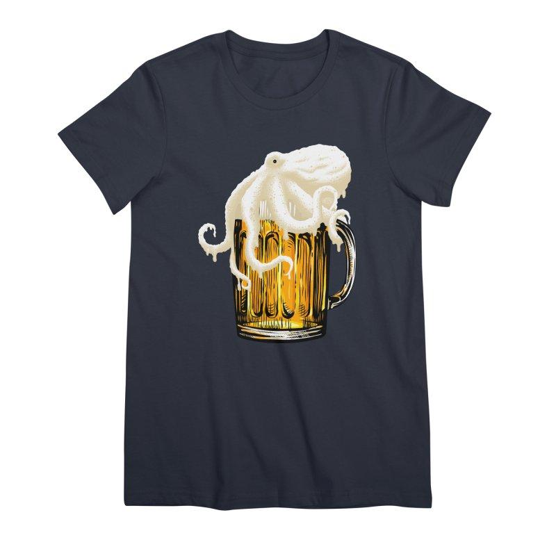 Octobeer Women's Premium T-Shirt by kooky love's Artist Shop