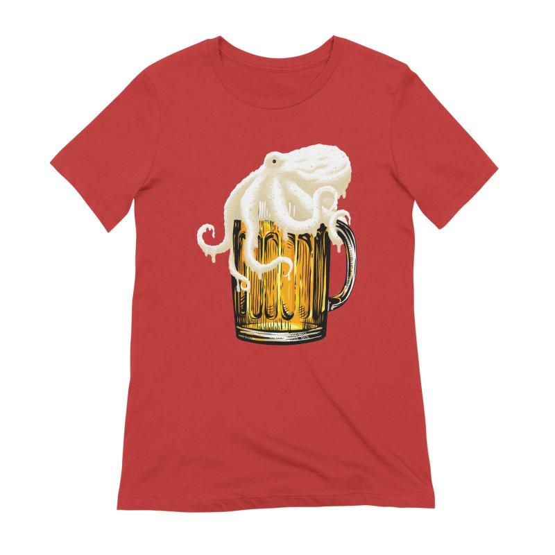Octobeer Women's Extra Soft T-Shirt by kooky love's Artist Shop
