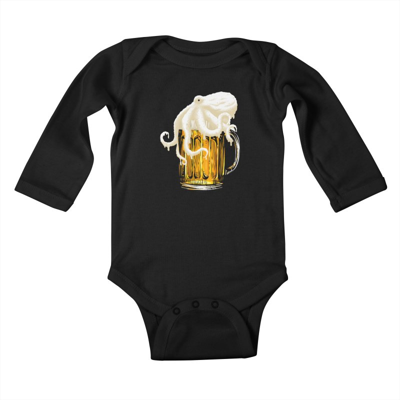 Octobeer Kids Baby Longsleeve Bodysuit by kooky love's Artist Shop