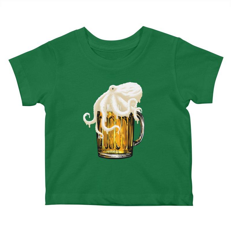 Octobeer Kids Baby T-Shirt by kooky love's Artist Shop