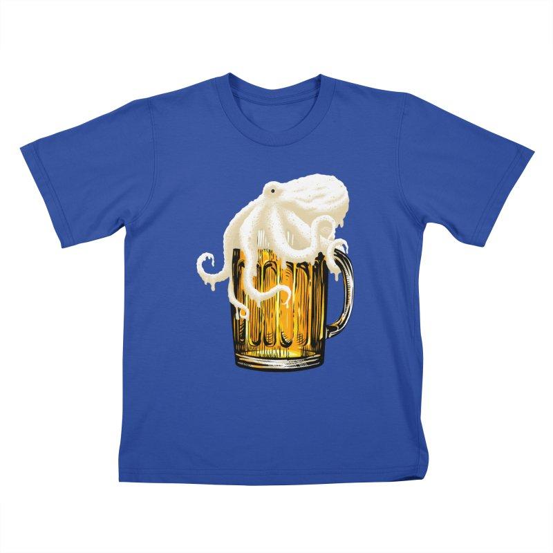 Octobeer Kids T-Shirt by kooky love's Artist Shop