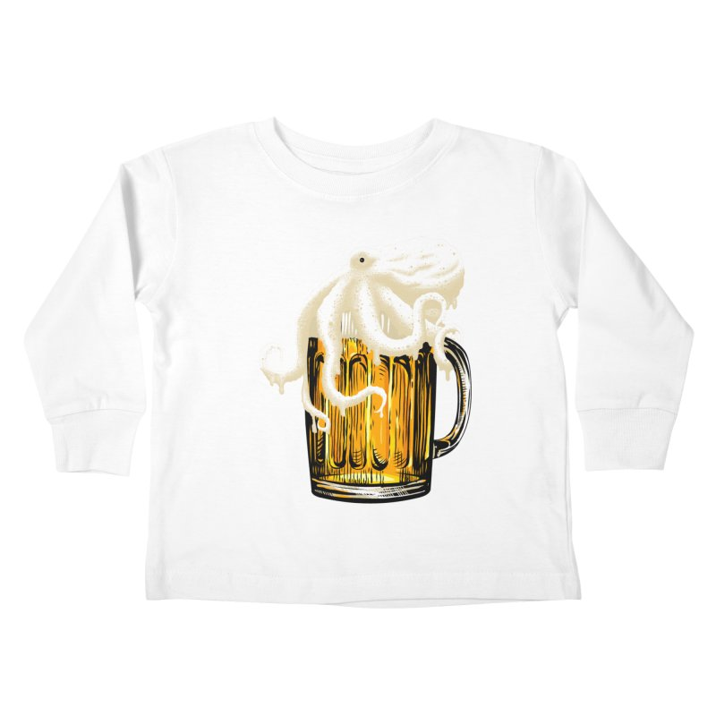 Octobeer Kids Toddler Longsleeve T-Shirt by kooky love's Artist Shop