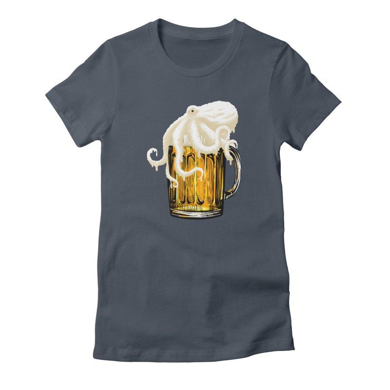 Octobeer Women's T-Shirt by kooky love's Artist Shop