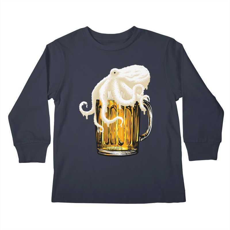 Octobeer Kids Longsleeve T-Shirt by kooky love's Artist Shop