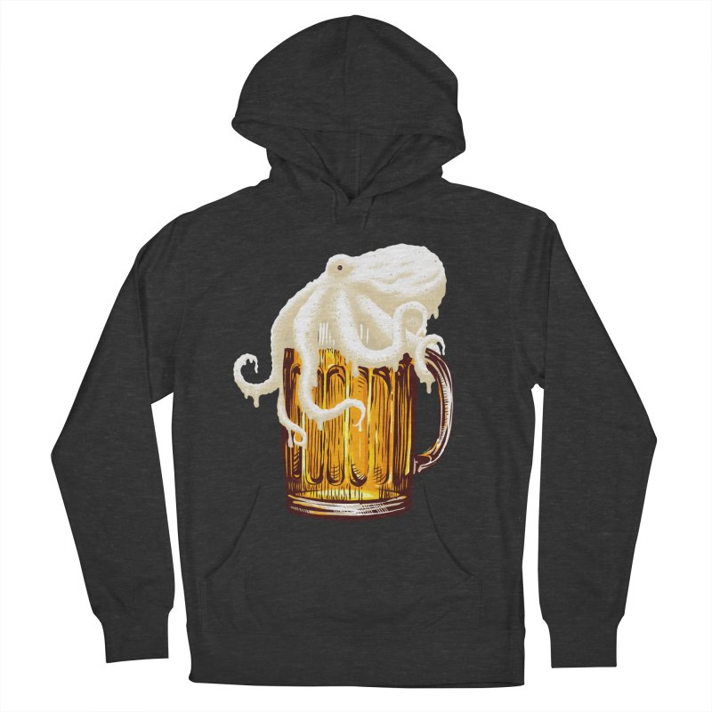 Octobeer Women's French Terry Pullover Hoody by kooky love's Artist Shop