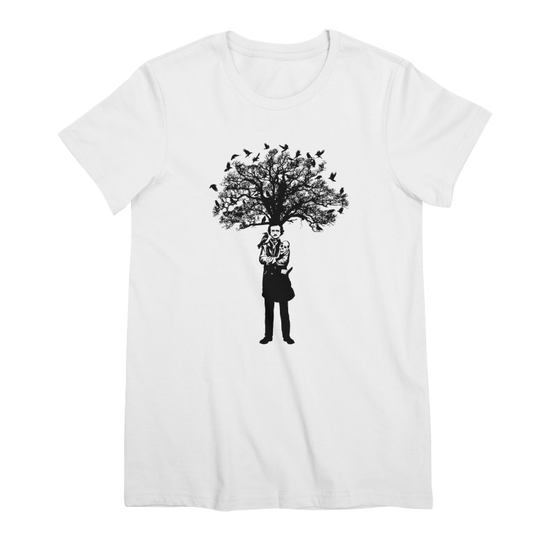 Poe Tree Women's Premium T-Shirt by kooky love's Artist Shop