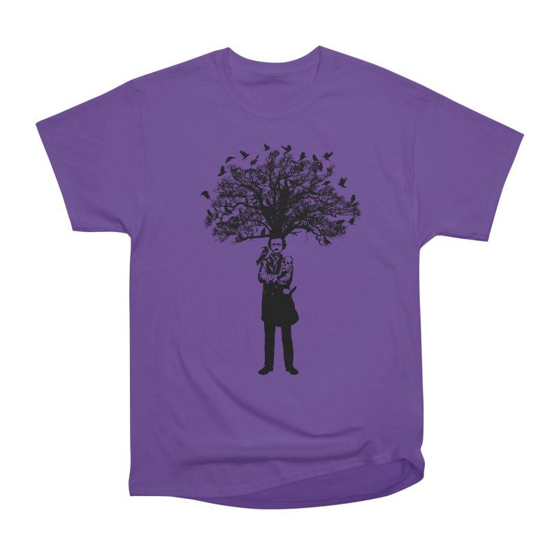 Poe Tree Women's Heavyweight Unisex T-Shirt by kooky love's Artist Shop