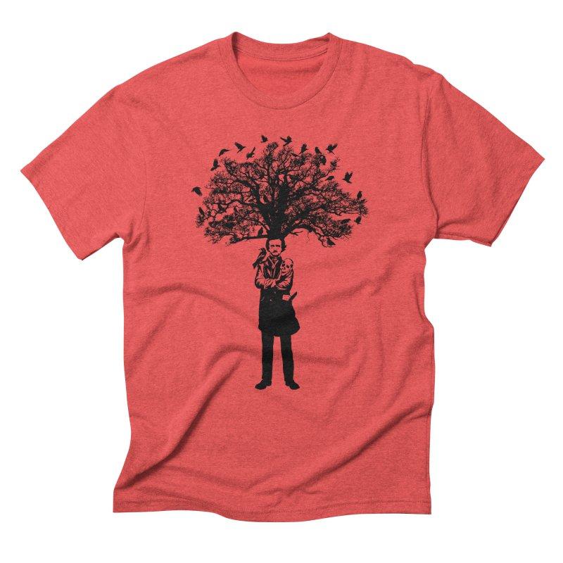 Poe Tree Men's Triblend T-Shirt by kooky love's Artist Shop