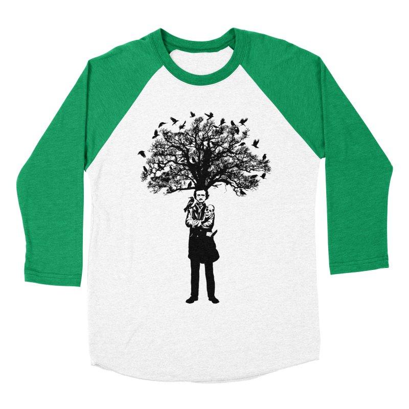 Poe Tree Women's Baseball Triblend Longsleeve T-Shirt by kooky love's Artist Shop