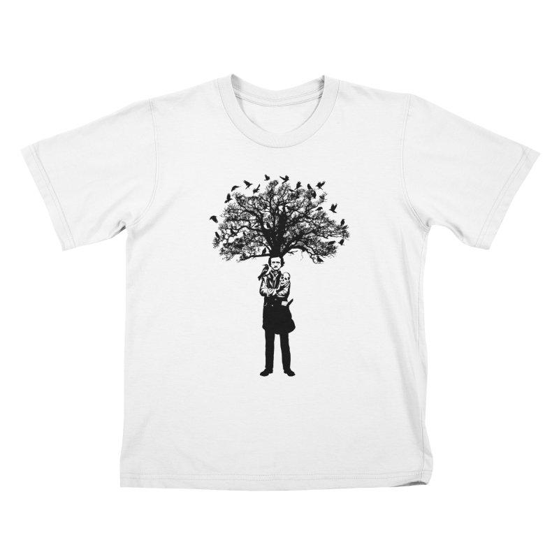 Poe Tree Kids T-Shirt by kooky love's Artist Shop