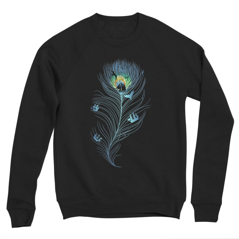 Pseachedelic Men's Sponge Fleece Sweatshirt by kooky love's Artist Shop