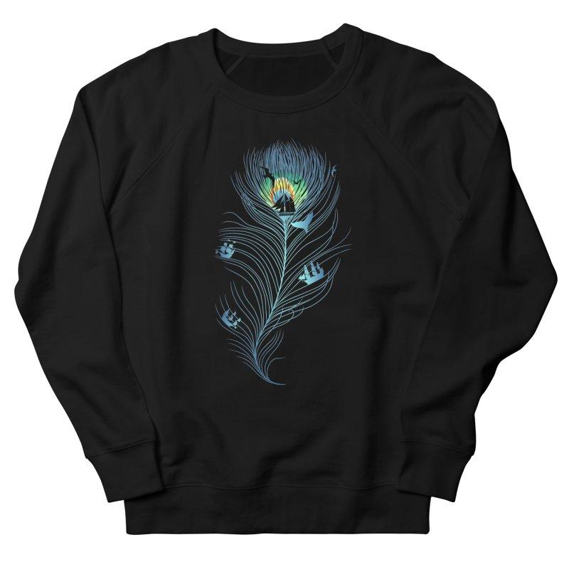 Pseachedelic Men's French Terry Sweatshirt by kooky love's Artist Shop