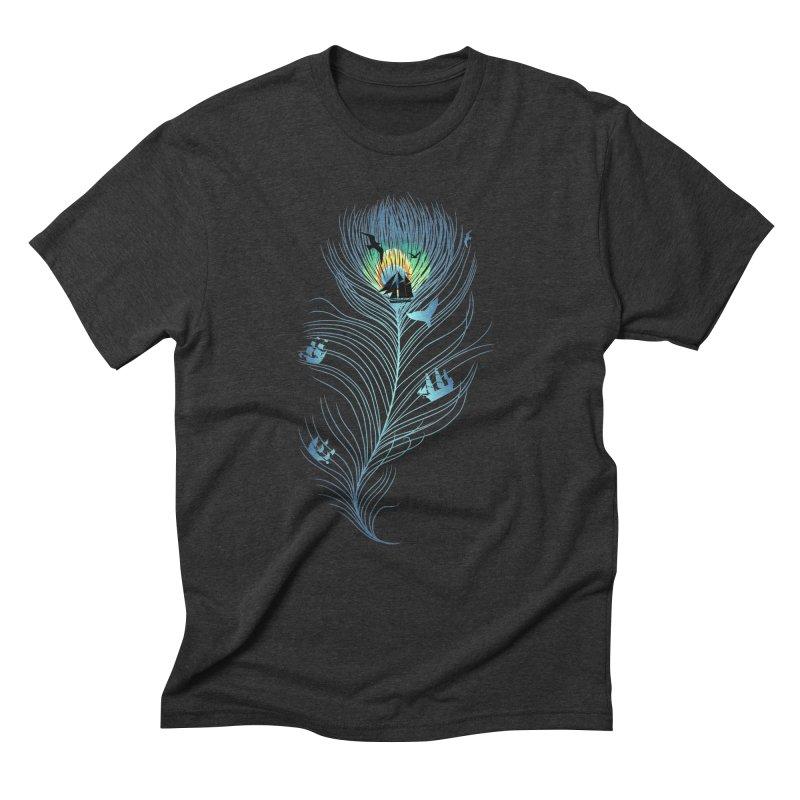 Pseachedelic Men's Triblend T-Shirt by kooky love's Artist Shop
