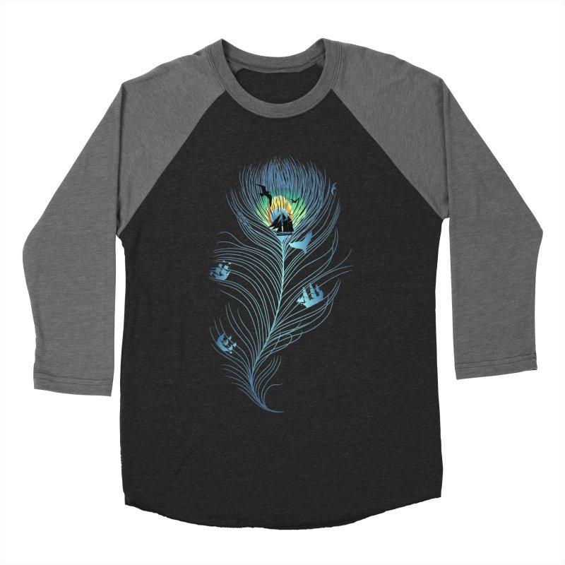Pseachedelic Women's Baseball Triblend Longsleeve T-Shirt by kooky love's Artist Shop