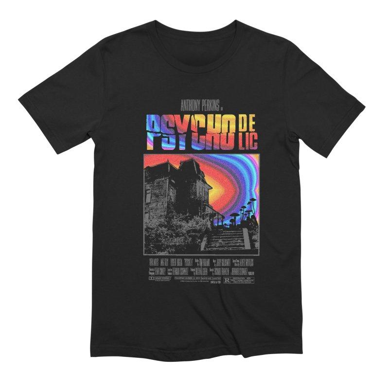 Psychodelic Men's Extra Soft T-Shirt by kooky love's Artist Shop