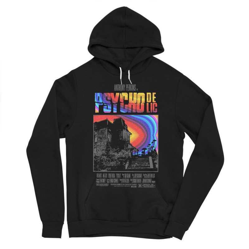 Psychodelic Women's Sponge Fleece Pullover Hoody by kooky love's Artist Shop
