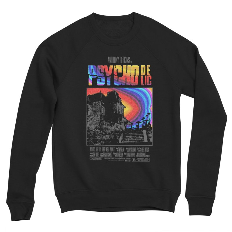 Psychodelic Men's Sponge Fleece Sweatshirt by kooky love's Artist Shop