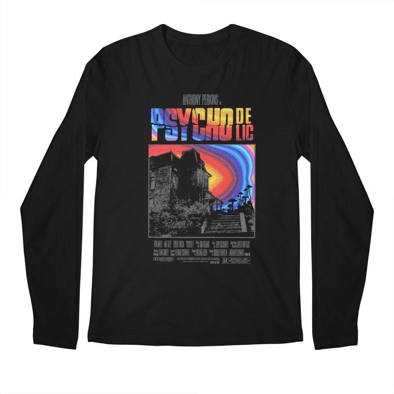 Psychodelic Men's Regular Longsleeve T-Shirt by kooky love's Artist Shop