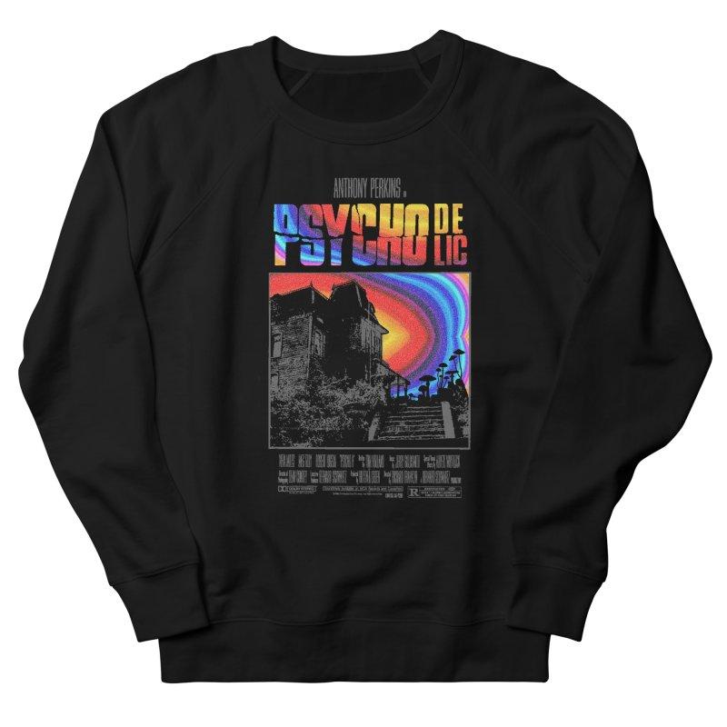 Psychodelic Men's French Terry Sweatshirt by kooky love's Artist Shop