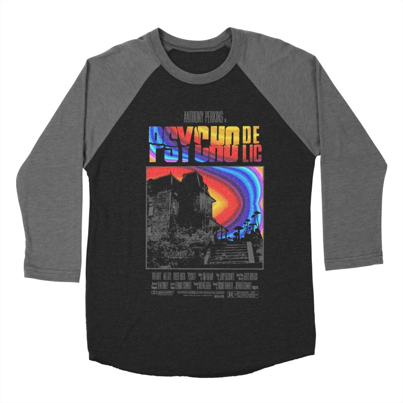 Psychodelic Women's Baseball Triblend Longsleeve T-Shirt by kooky love's Artist Shop