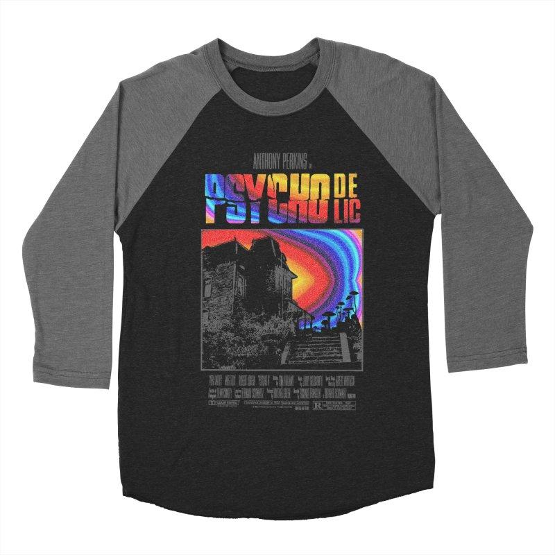 Psychodelic Men's Baseball Triblend Longsleeve T-Shirt by kooky love's Artist Shop