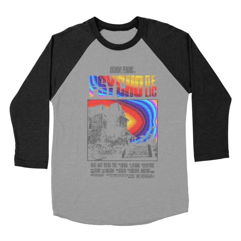 Psychodelic Men's Baseball Triblend Longsleeve T-Shirt by kooky love's Artist Shop