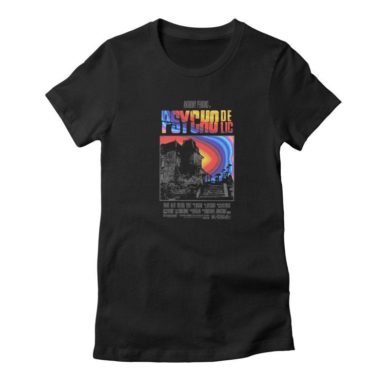 Psychodelic Women's T-Shirt by kooky love's Artist Shop