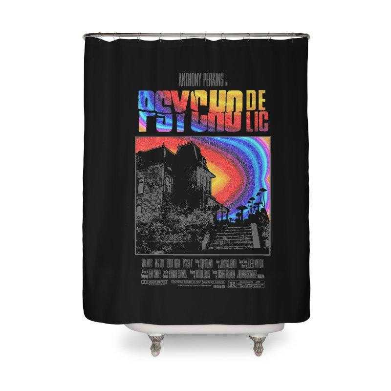 Psychodelic Home Shower Curtain by kooky love's Artist Shop