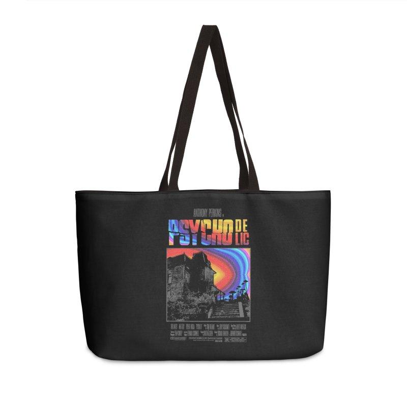 Psychodelic Accessories Weekender Bag Bag by kooky love's Artist Shop