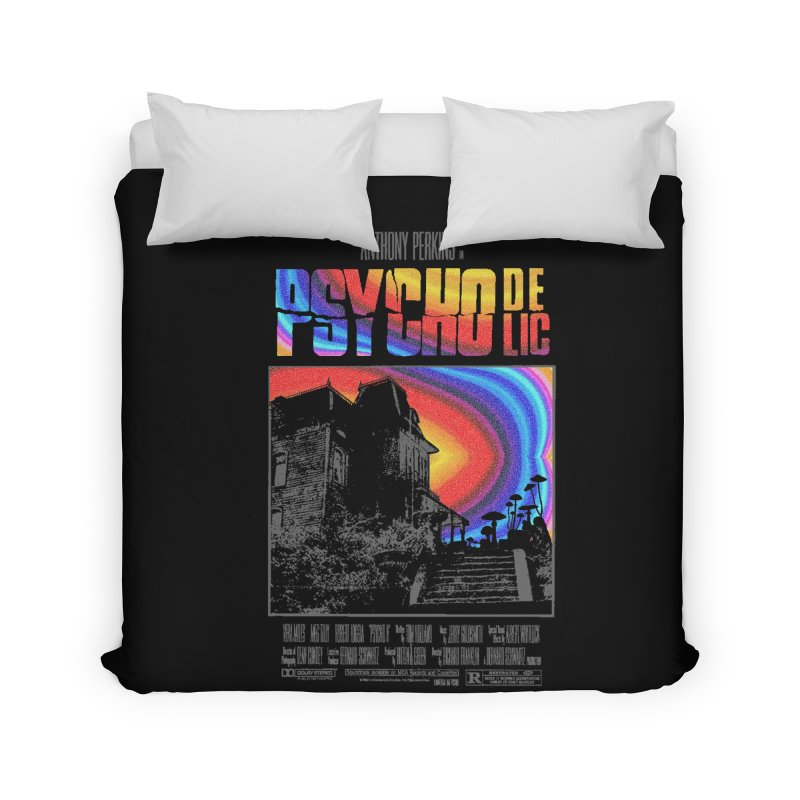 Psychodelic Home Duvet by kooky love's Artist Shop