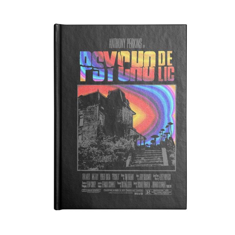 Psychodelic Accessories Lined Journal Notebook by kooky love's Artist Shop