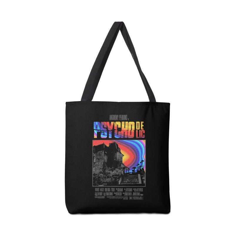 Psychodelic Accessories Tote Bag Bag by kooky love's Artist Shop
