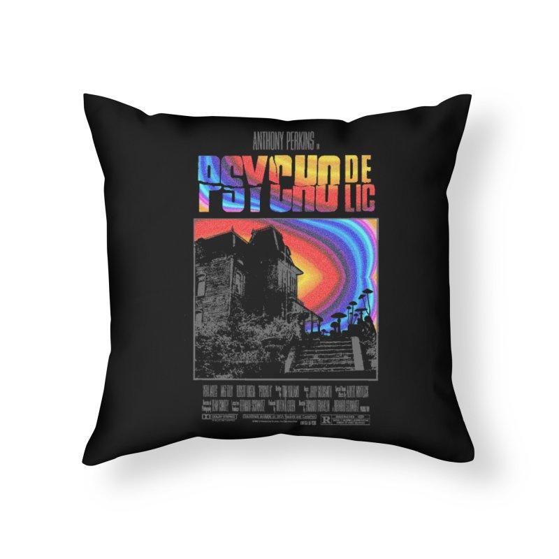 Psychodelic Home Throw Pillow by kooky love's Artist Shop