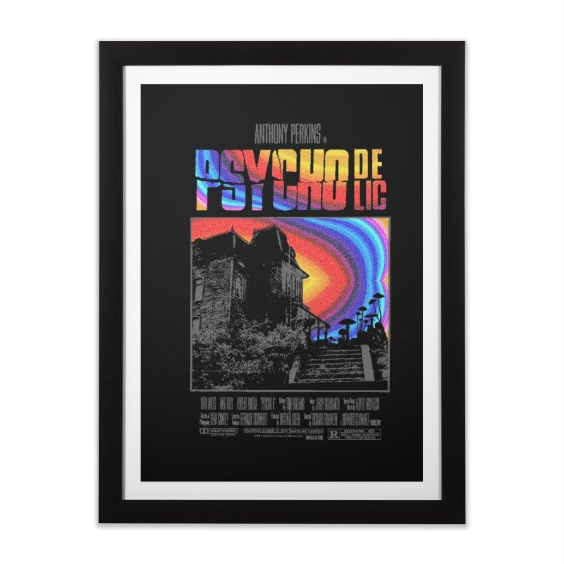 Psychodelic Home Framed Fine Art Print by kooky love's Artist Shop