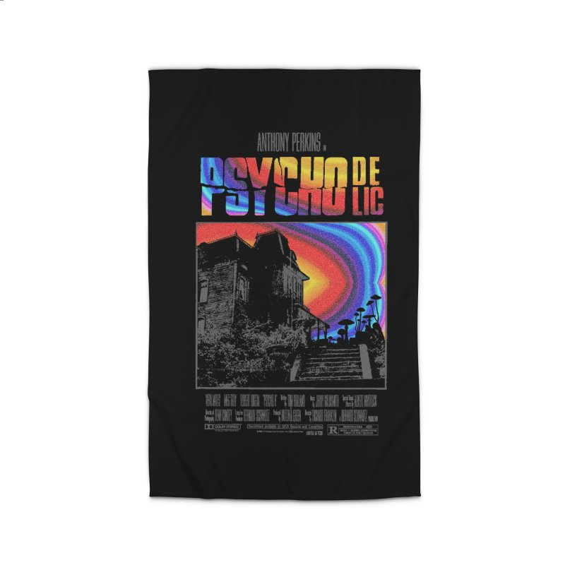 Psychodelic Home Rug by kooky love's Artist Shop