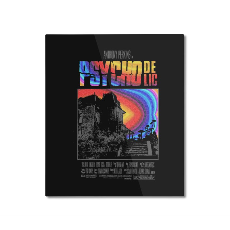 Psychodelic Home Mounted Aluminum Print by kooky love's Artist Shop
