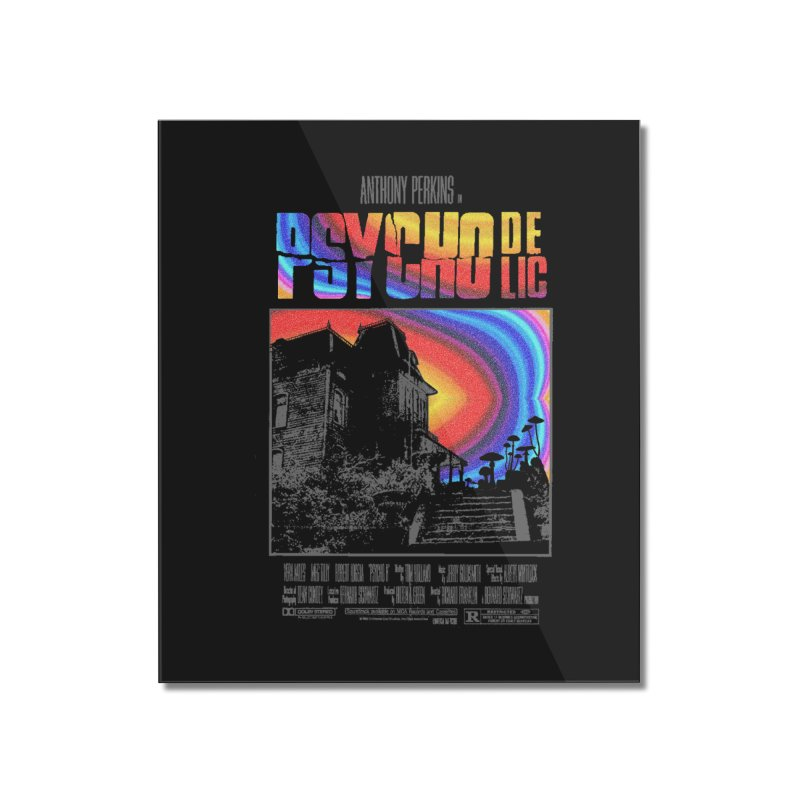 Psychodelic Home Mounted Acrylic Print by kooky love's Artist Shop