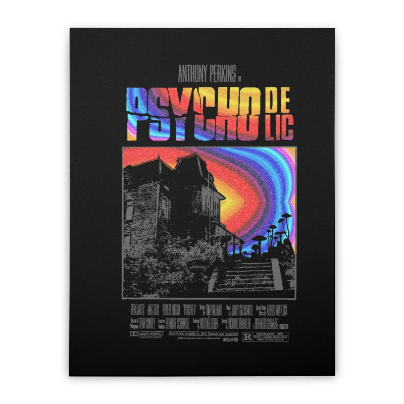 Psychodelic Home Stretched Canvas by kooky love's Artist Shop