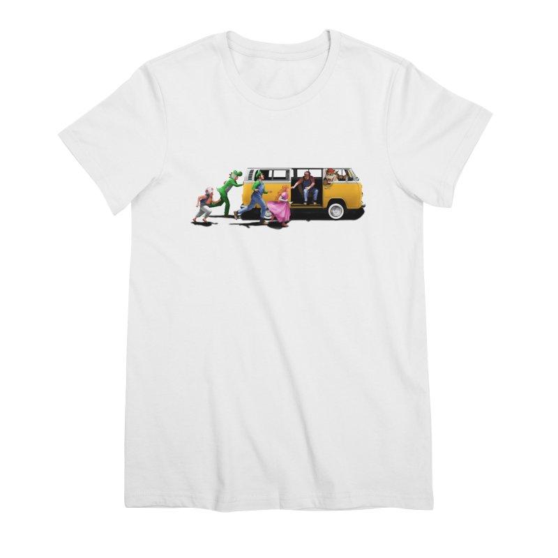 Little Peach Sunshine Women's Premium T-Shirt by kooky love's Artist Shop