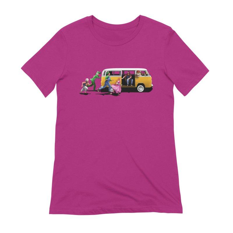 Little Peach Sunshine Women's Extra Soft T-Shirt by kooky love's Artist Shop
