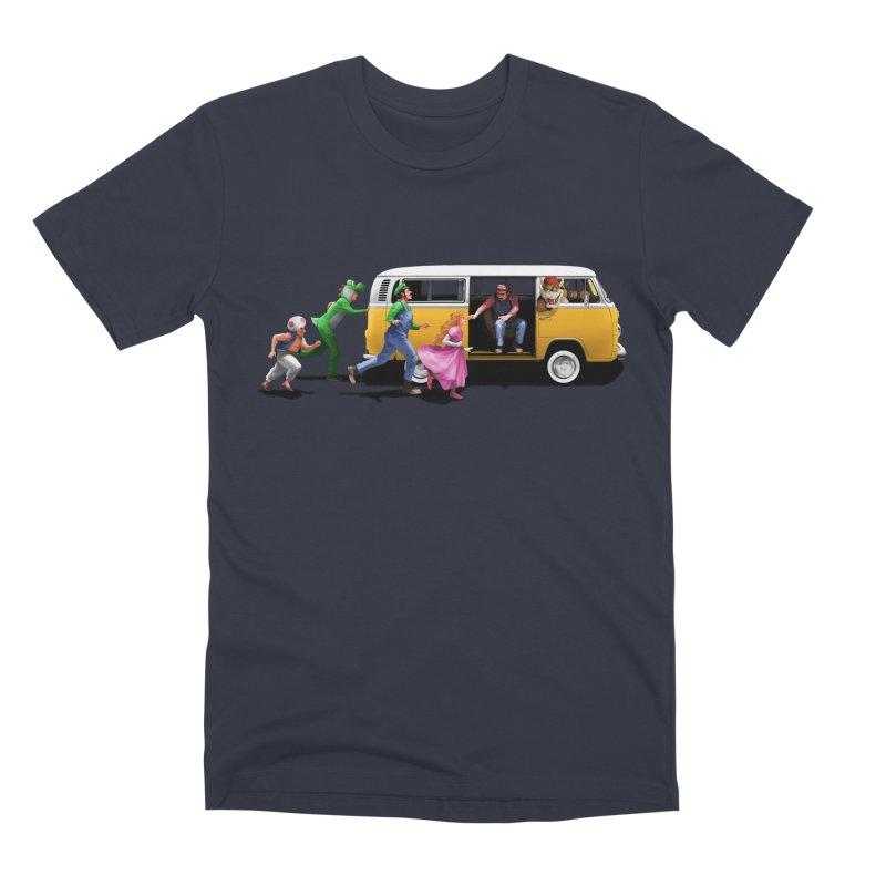 Little Peach Sunshine Men's Premium T-Shirt by kooky love's Artist Shop