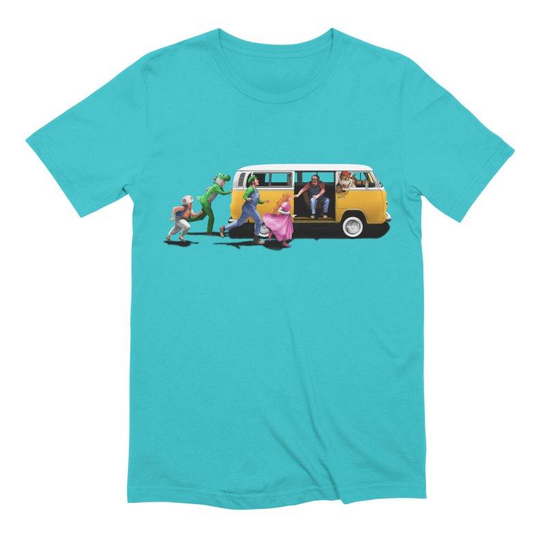 Little Peach Sunshine Men's Extra Soft T-Shirt by kooky love's Artist Shop