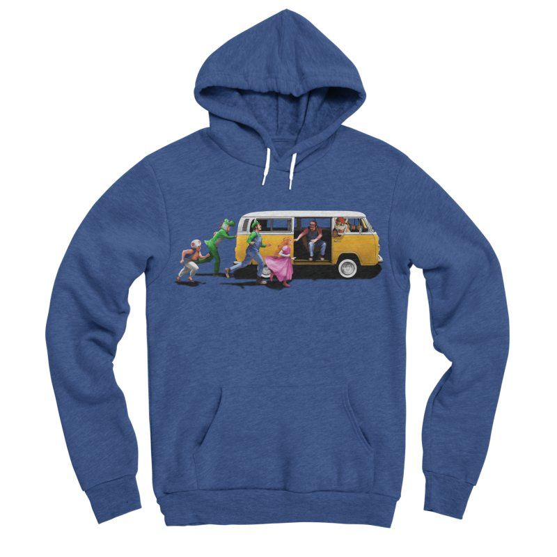 Little Peach Sunshine Men's Sponge Fleece Pullover Hoody by kooky love's Artist Shop