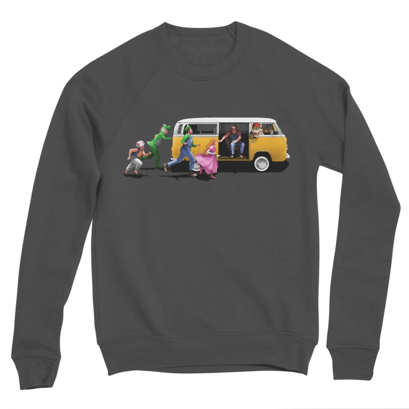 Little Peach Sunshine Men's Sponge Fleece Sweatshirt by kooky love's Artist Shop